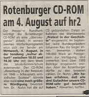 Rotenburger CD-ROM am 4. August auf hr2